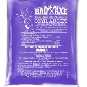 Bad Axe ONSLAUGHT Disinfectant